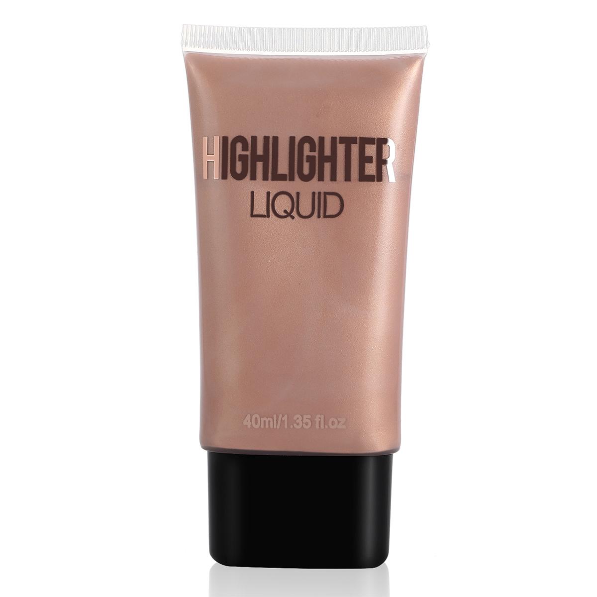Liquid highlighter foundation
