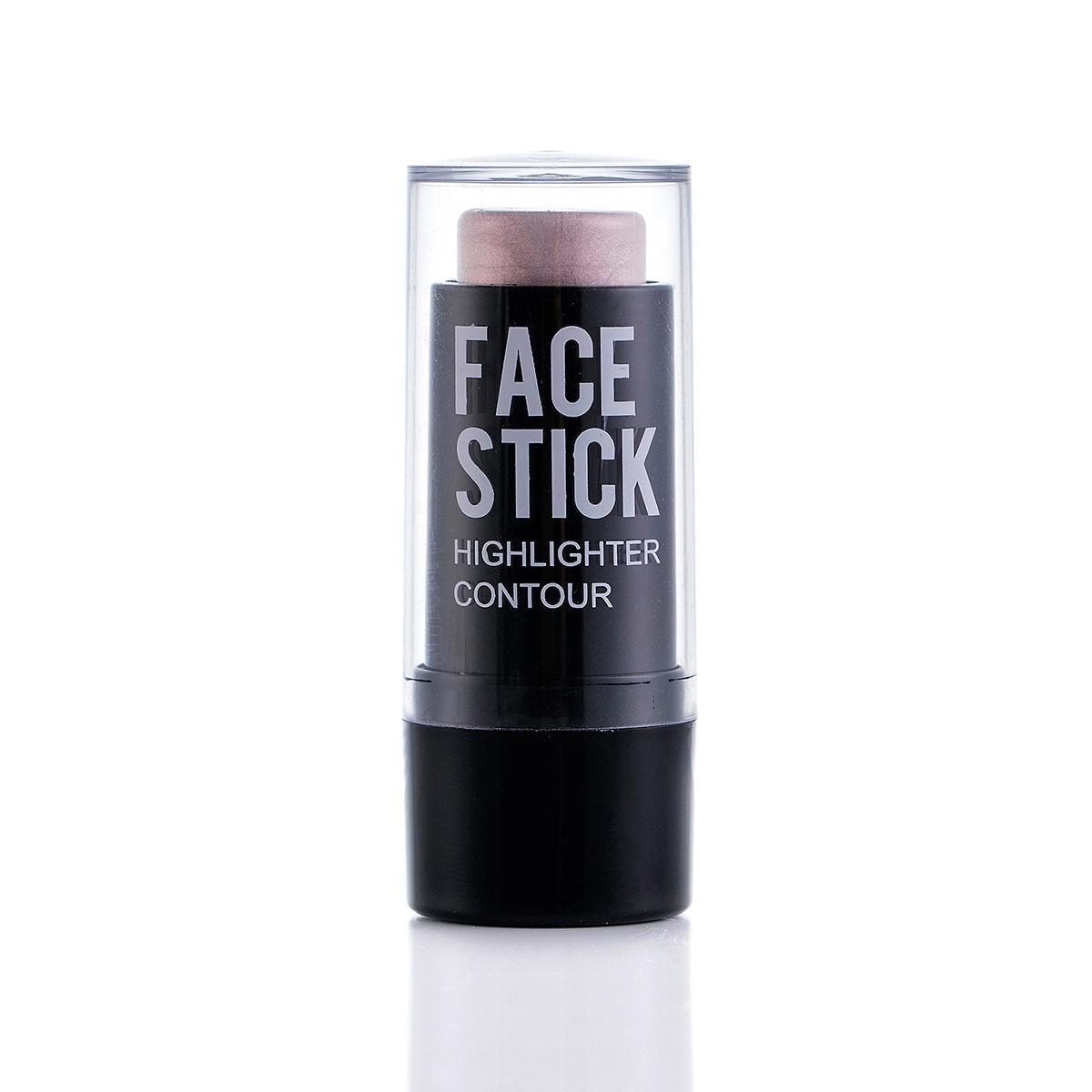 Face highlighter stick
